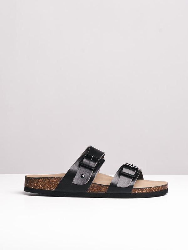 WOMENS BRANDO BLACK PARIS SANDALS