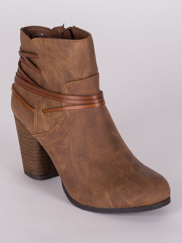 WOMENS DENICE - COGNAC - CLEARANCE