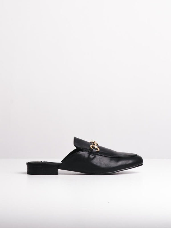 WOMENS DORIANA BLACK FLATS- CLEARANCE