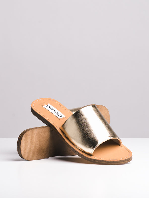 WOMENS GRACEE GOLD SANDALS