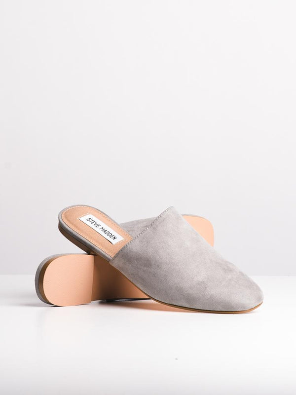 WOMENS SLIDER GREY FLATS- CLEARANCE