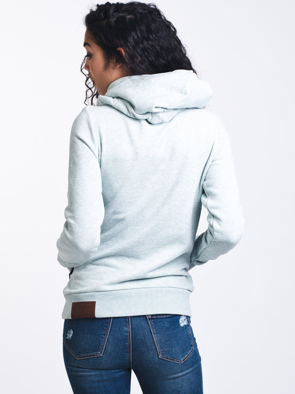 WOMENS DARTH PULLOVER HOODIE - MINT