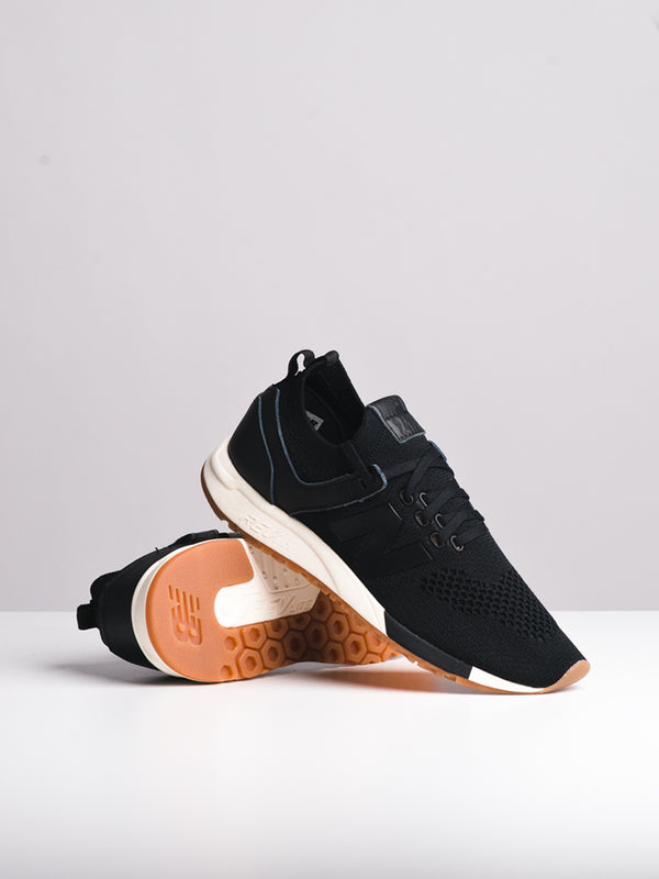 a57ef739fbece ... WOMENS 247 DECON BLACK WHITE SNEAKERS- CLEARANCE