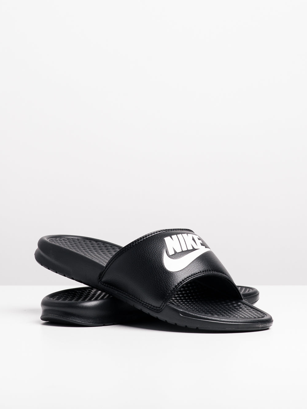 MENS BENASSI JDI BLACK/WHITE SANDALS