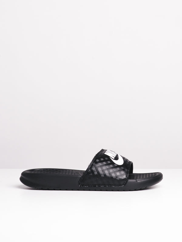 WOMENS BENASSI JDI BLACK/WHITE SANDALS