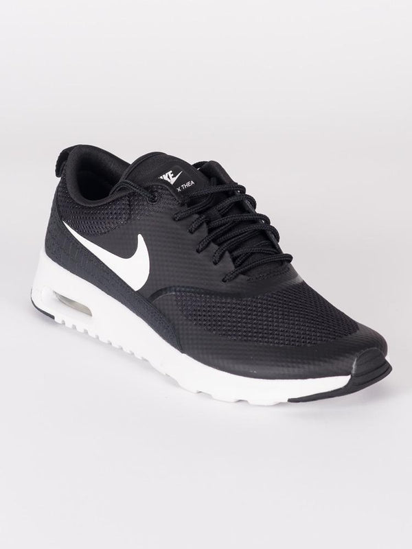 WOMENS AIR MAX THEA BLACK/WHITE SNEAKERS- CLEARANCE