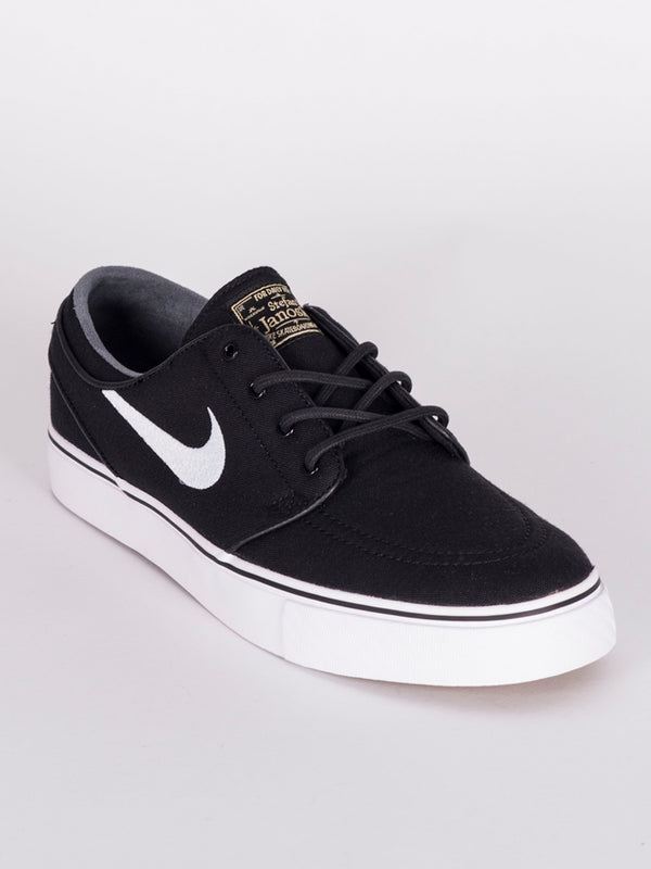MENS ZOOM SJ CANVAS BLACK/WHITE SNEAKERS