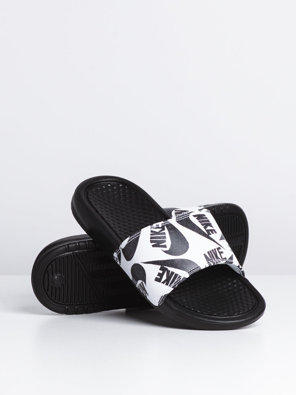 WOMENS BENASSI JDI - BLACK/WHITE