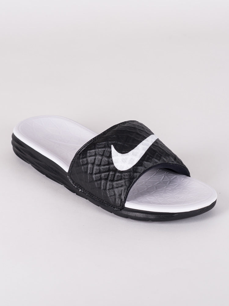WOMENS BENASSI SOLARSOFT SLIDE 2 SANDALS- CLEARANCE