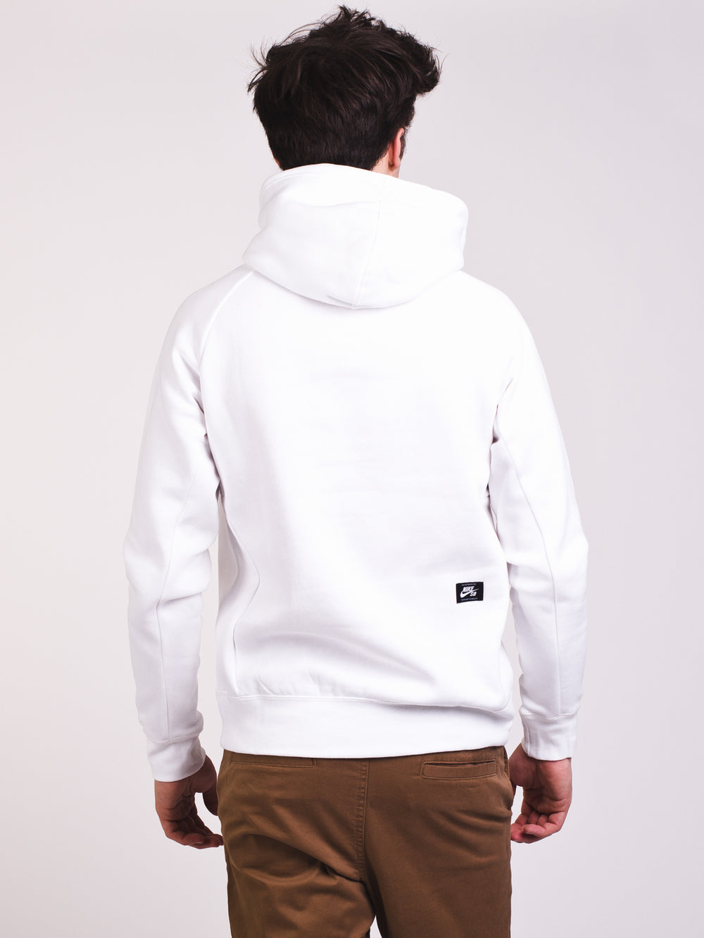 MENS SB ICON PULL OVER HOODIE - WHT/ROY