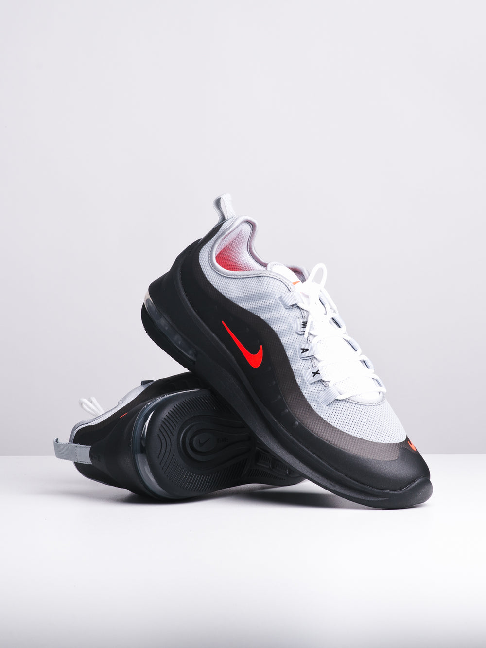 release info on another chance size 7 MENS AIR MAX AXIS GREY/CRIMSON SNEAKERS - CLEARANCE
