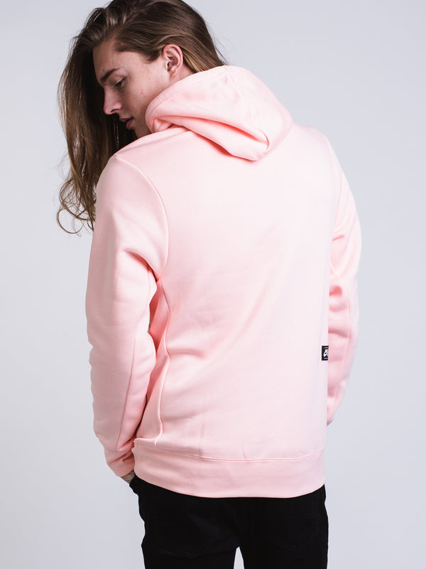 MENS SB ICON PULL OVER HOODIE- STORM PINK