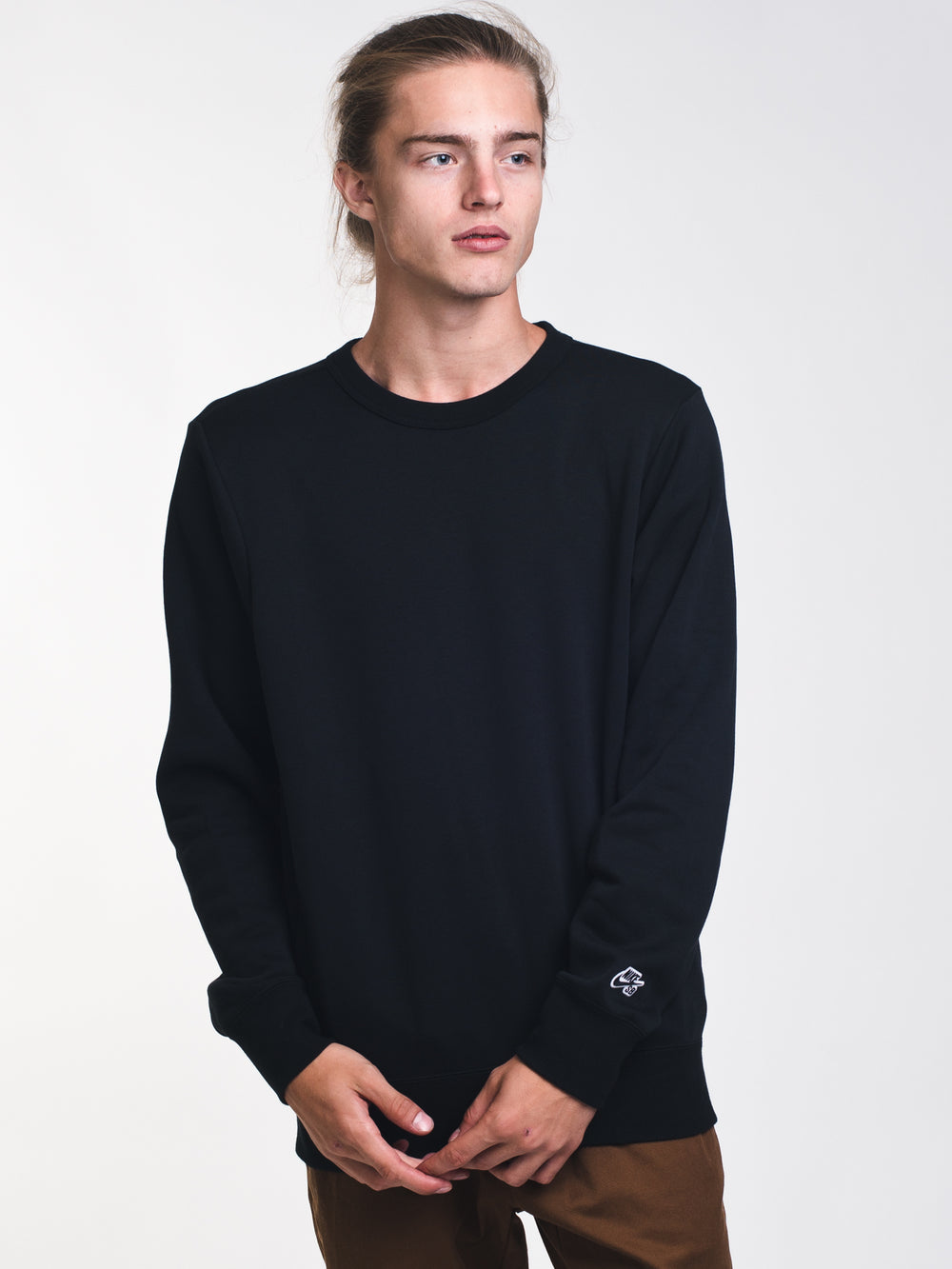 MENS SB CREW ICON FLC ESSENTIAL