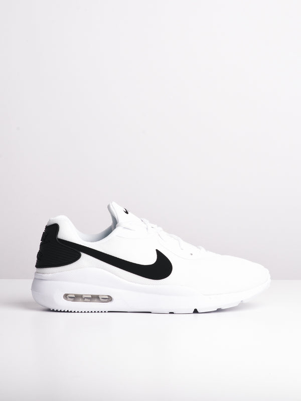 MENS AIR MAX OKETO RATIO - WHT/BLK