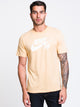 MENS SB DRCT LOGO SHORT SLEEVET-SHIRT- GOLD