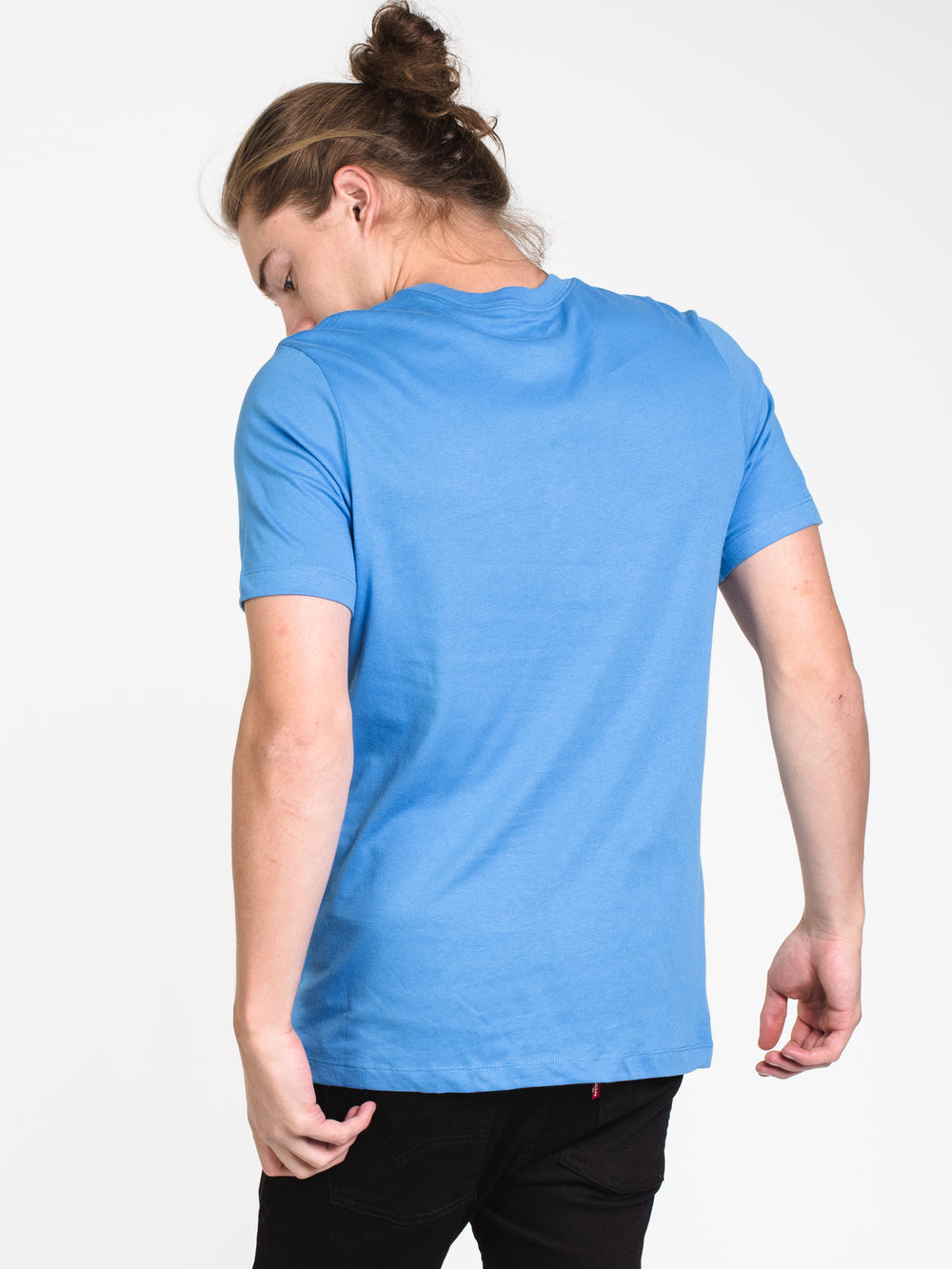 MENS SB DRY SHORT SLEEVET-SHIRT- PACIFIC BLUE