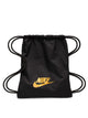 HERITAGE GYM SACK - BLACK/GOLD