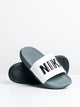 MENS OFFCOURT SLIDE - DARK GREY