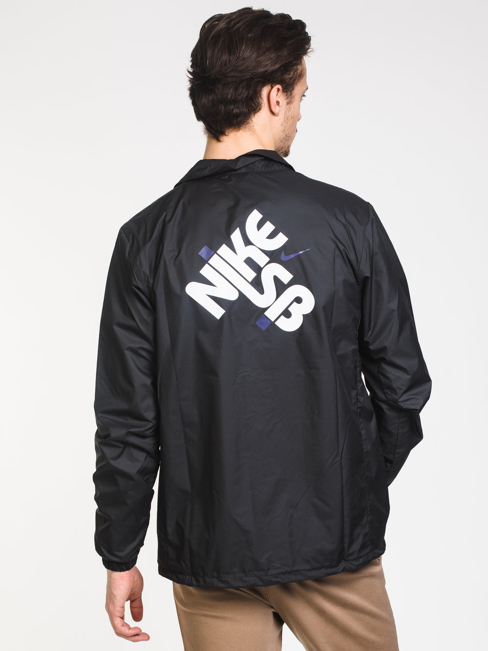 MENS SEASONAL COACHES JACKET - BLACK