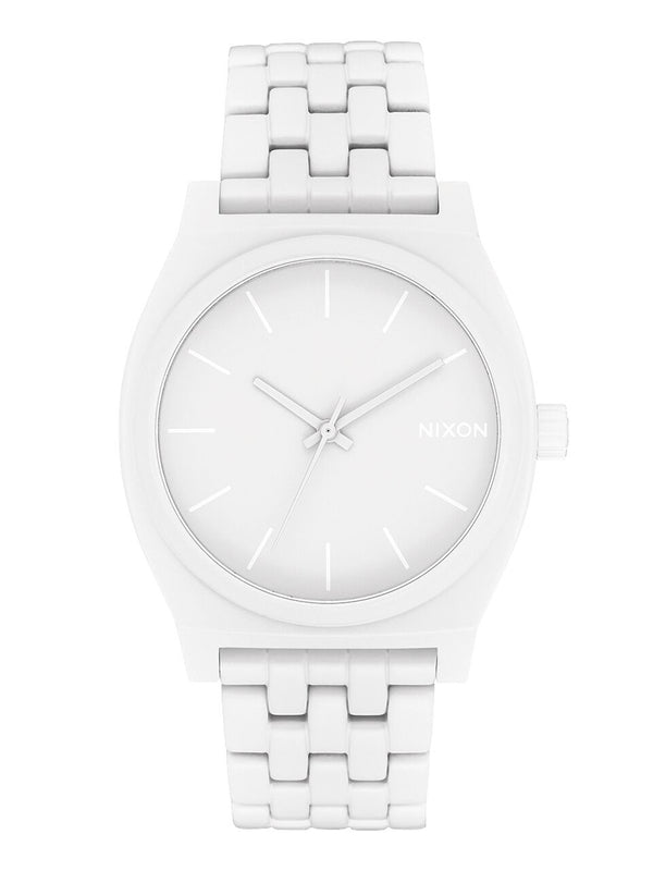 MENS TIME TELLER - ALL WHITE
