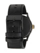 MENS SENTRY LEATHER - MATTE BLACK/GOLD