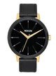 WOMENS KENSINGTON LEATHER - GLD/BLK/WHT WATCH