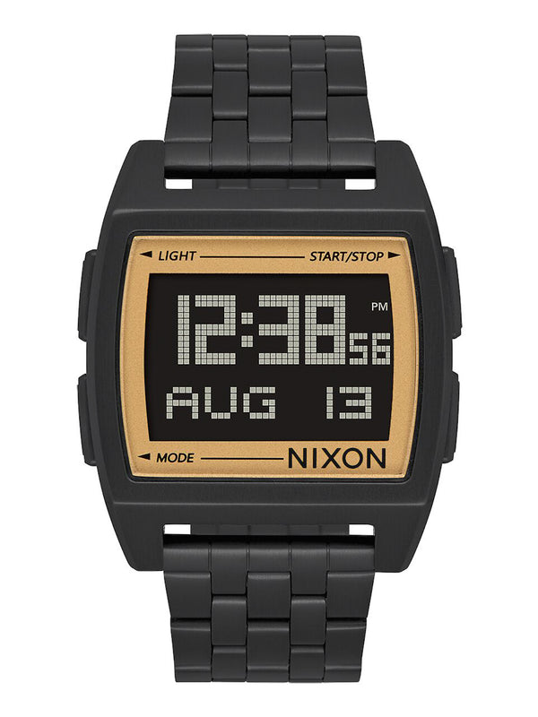 MENS BASE - ALL BLACK/GOLD WATCH