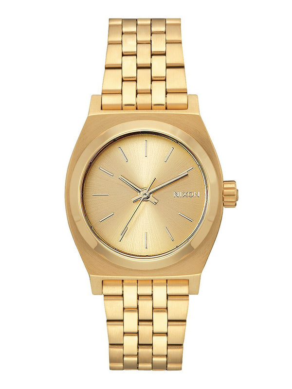 WOMENS MEDIUM TIME TELLER - ALL GOLD WATCH