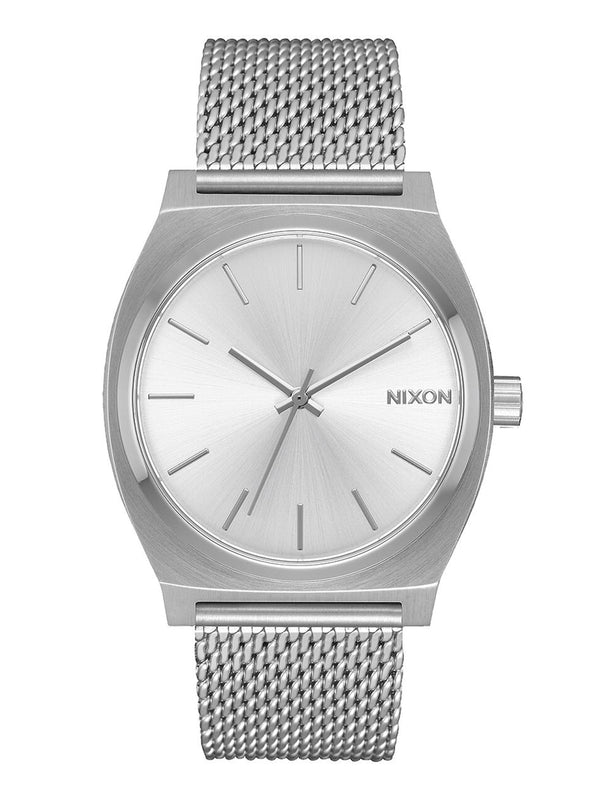 WOMENS TIME TELLER MILAN - ALL SILVER WATCH