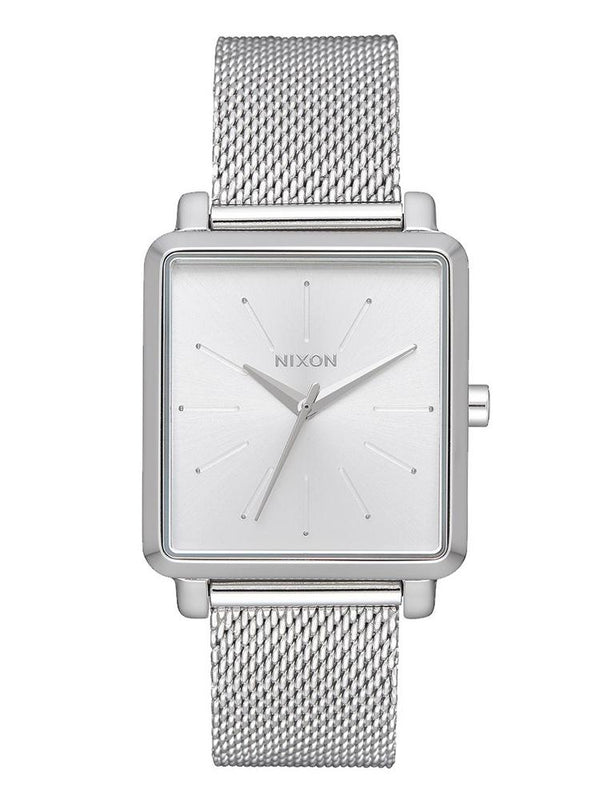 WOMENS K SQUARE MILANESE - SILVER WATCH