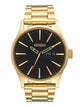 MENS SENTRY SS - ALL GOLD/BLACK WATCH
