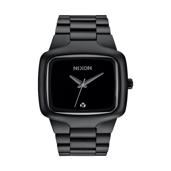 MENS BIG PLAYER - MATTE BLACK WATCH- CLEARANCE