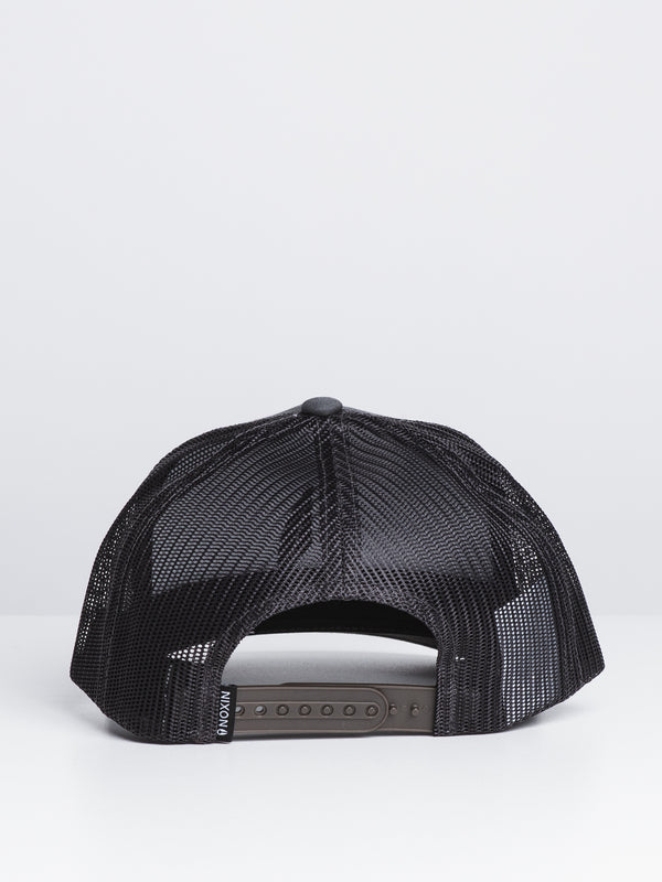 ICONED TRUCKER - CHARCOAL