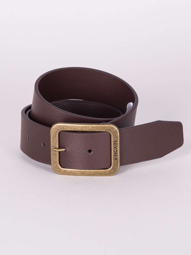 DE FACTO BELT - CHESTNUT - CLEARANCE