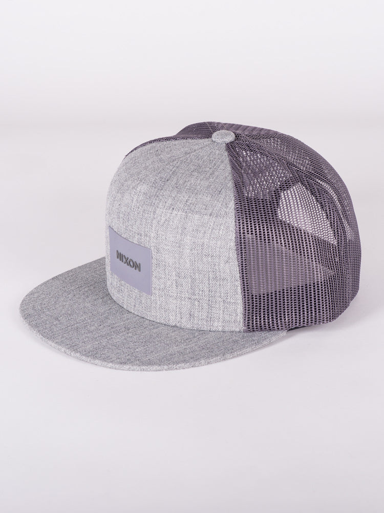 TEAM TRUCKER - HEATHER GREY - CLEARANCE