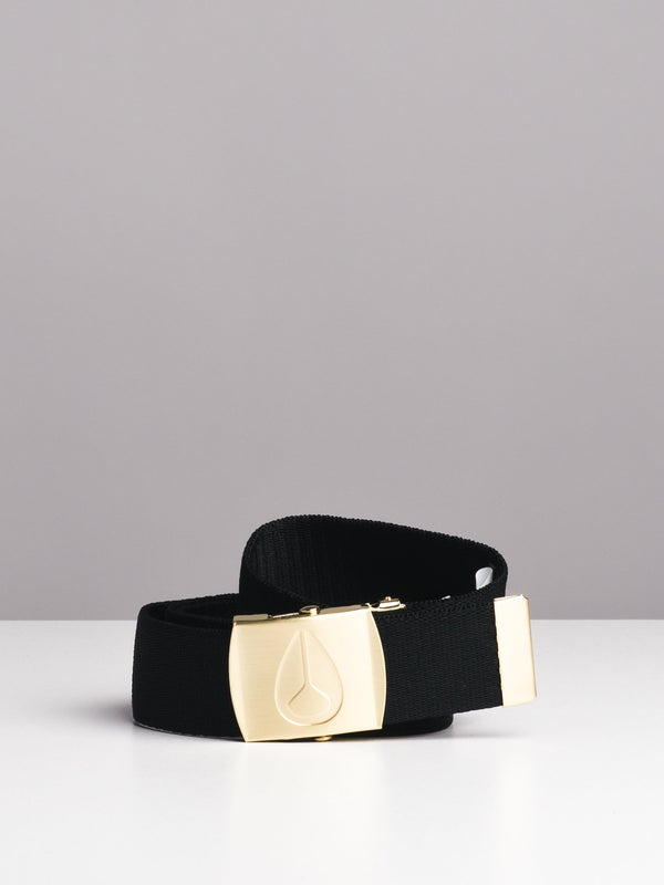 BASIS WINGS BELT - BLACK/GOLD