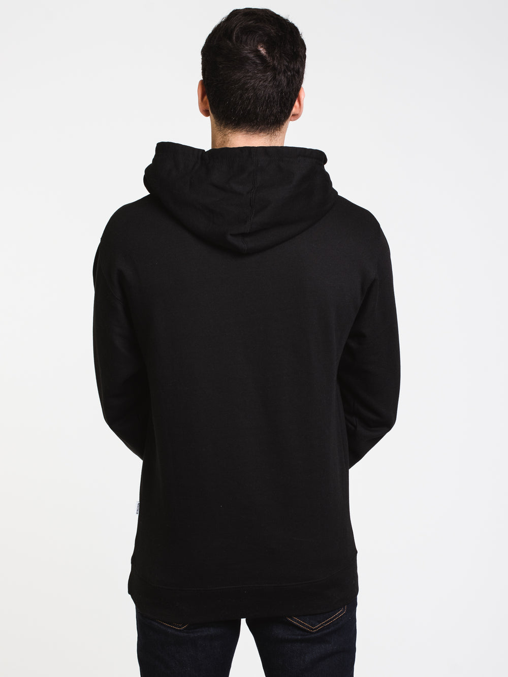MENS WINGS PULLOVER HOODIE - BLACK