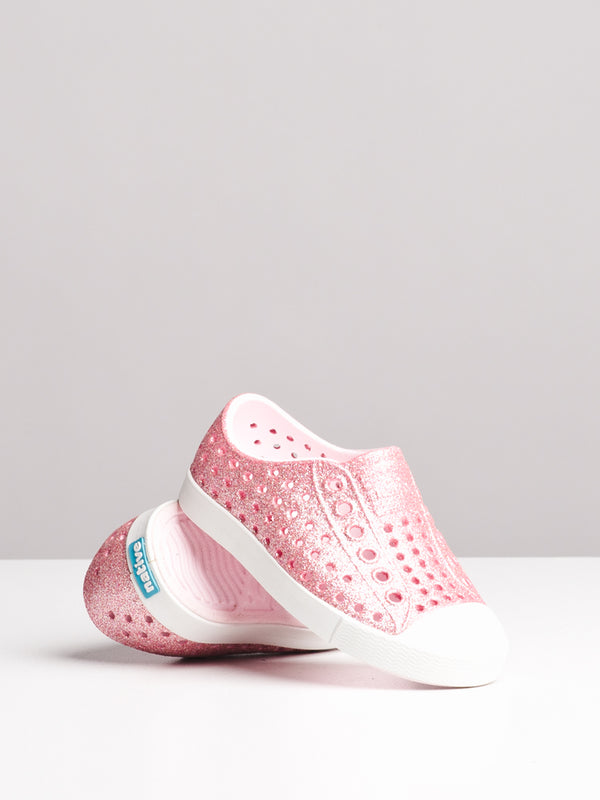 KIDS TODDLER JEFFERSON PINK BLING/WHITE
