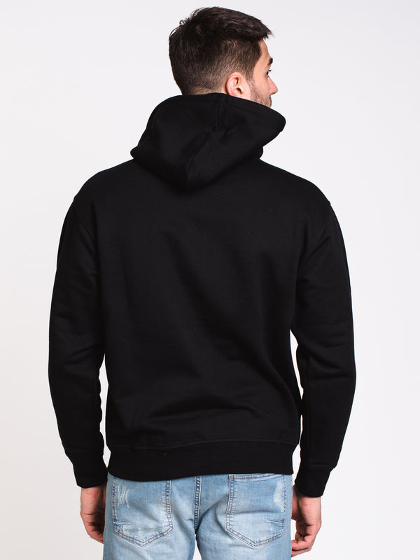 MENS WAY Pullover HOOD - BLACK