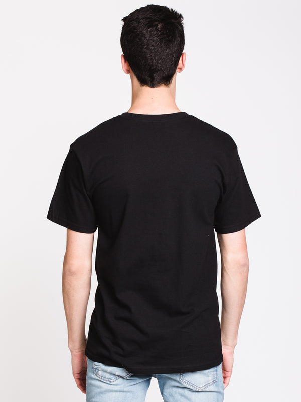 MENS CREEPER CIRCLE 2 SHORT SLEEVE T-SHIRT - BLK