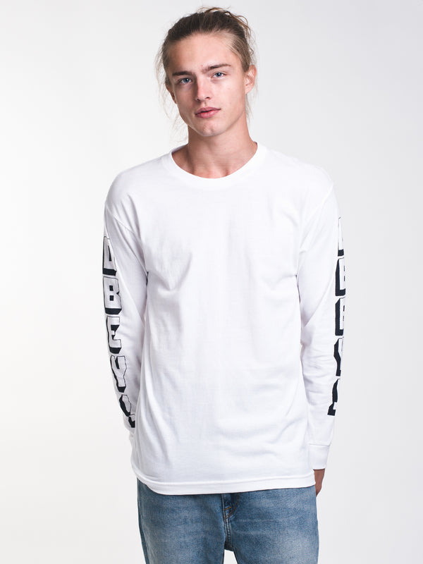 MENS OBEY NEW WORLD 3 LONG SLEEVE T-SHIRT