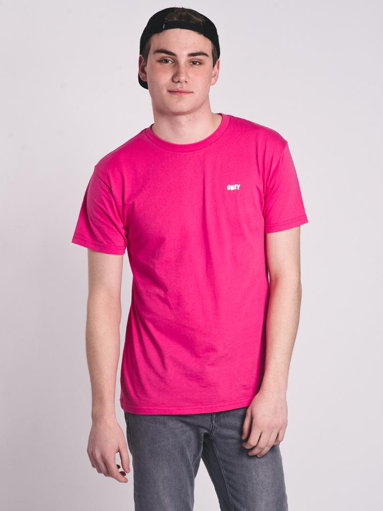MENS OBEY JUMBLE LO-FI SHORT SLEEVE T-SHIRT- CLEARANCE