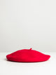 WOOL BERET - RED