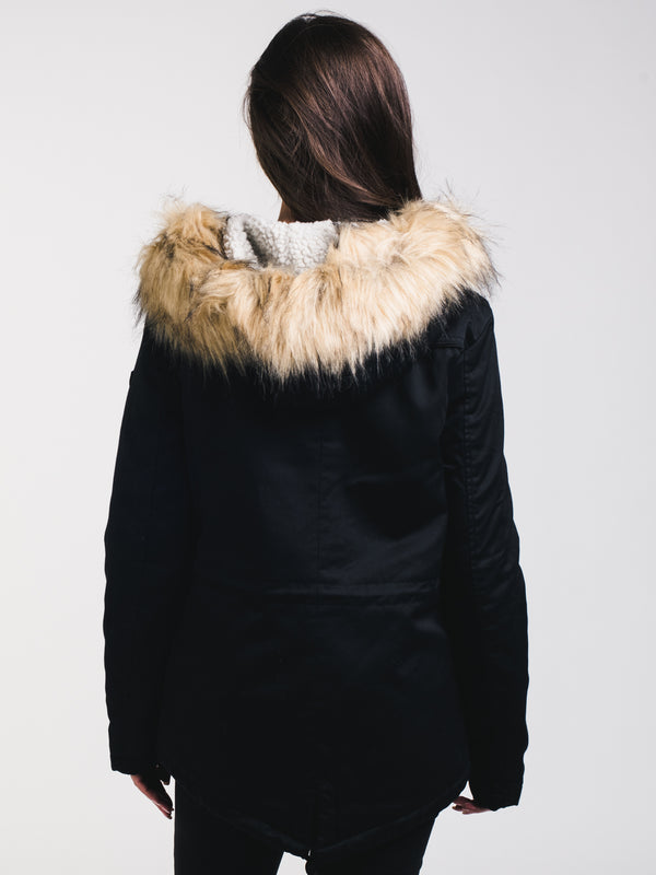 WOMENS KATE PARKA - BLACK