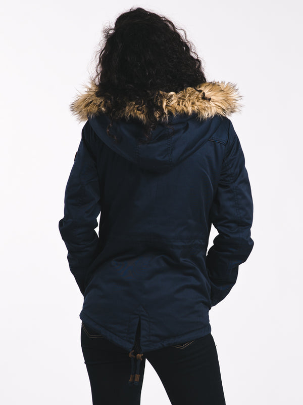 WOMENS KATE PARKA - SKY CAPTAIN