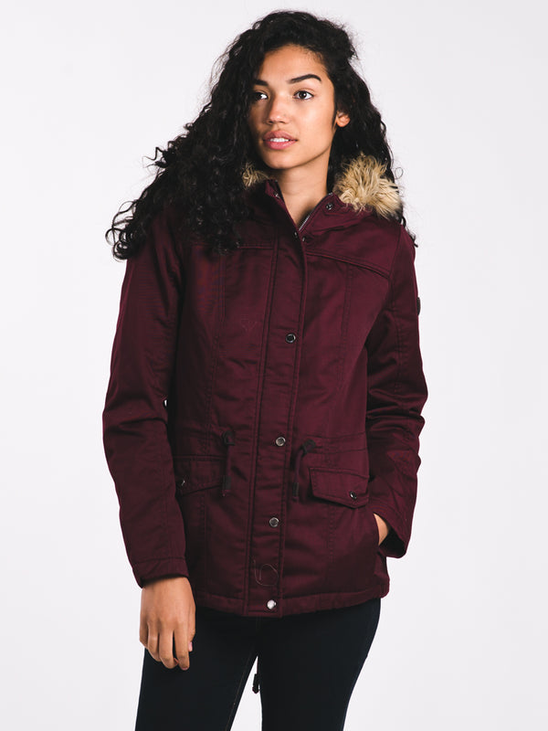 WOMENS KATE PARKA - PORT ROYAL