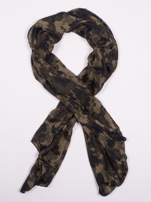 BRITANY SCARF - CAMO - CLEARANCE
