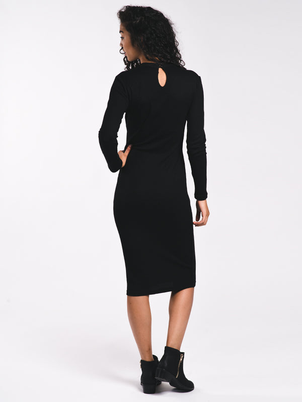 WOMENS BREAK LONG SLEEVE HIGHNECK DRESS - CLEARANCE