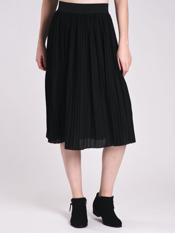 WOMENS SWAY SKIRT - BLACK - CLEARANCE