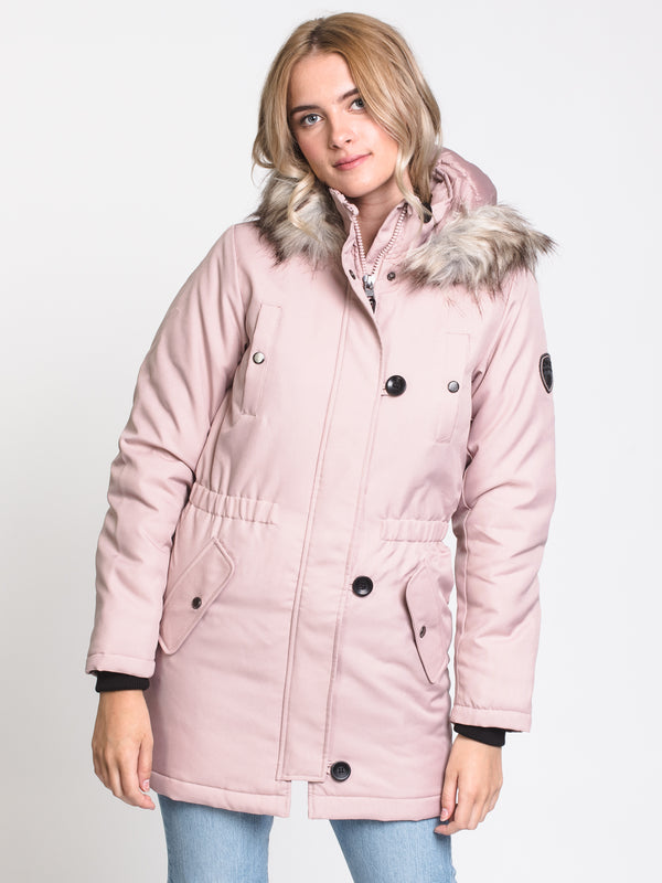 WOMENS IRIS PARKA - ROSE DUST - CLEARANCE
